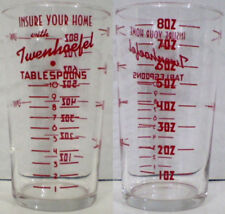 Twenhoefel Insurance Advertising Measuring Glass