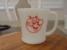 Fire-King Reddy Kilowatt Cips Central Illinois Utilities Advertising Coffee Mug