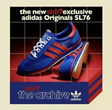 BNWT Adidas Originals Mens SL 76 Blue Red Size Exclusive - Size 12 UK