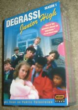 Degrassi Junior High - Complete First Season (DVD, 2005, 3-Disc Set)NEW & SEALED