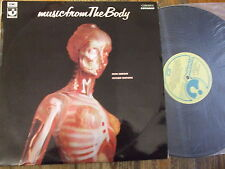 Music from the Body-Ron Geesin/Roger Waters RARE Harvest LP