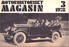 Motorhistoriskt Magasin Swedish Car Magazine 3 1978 Austin Sixteen 032717nonDBE