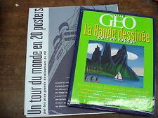 LA BANDE DESSINEE part en voyage- l'album GEO+ port-folio