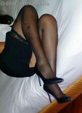 Calze autoreggenti colore Nero. Black color- Stockings