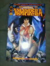 1994 VINTAGE HARRIS VENGEANCE OF VAMPIRELLA # 6 SIGNED ADAM HUGHES COVER ART