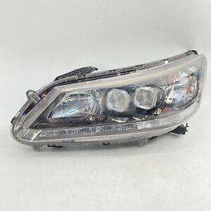 2014 2015 Honda Accord Hybrid Touring Full LED Dual Projector Left OEM Headlight