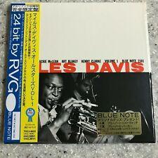 Miles Davis, Vol. 1 Japan mini LP paper sleeve CD Obi Blue Note Jackie McLean
