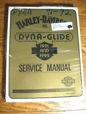 1991 1992 Harley-Davidson Dyna-Glide Service Shop Repair Workshop Manual NEW