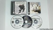 Final Fantasy Antholgy - Collector's Package - Playstation 1 - PS1 - NTSC