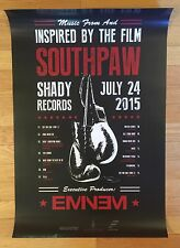 Eminem Slim Shady Signed Autographed  Southpaw Poster + Shirt & Hoodie Bundle