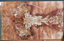 Figured Flame Spalted Maple Wood 11155 Luthier Guitar Top 23+ x14.5 x .500