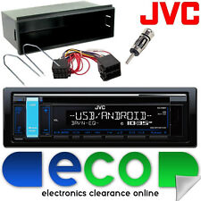 Peugeot 307 2001-2005 JVC CD MP3 USB Aux Ipod Car Stereo Radio Facia Fitting Kit