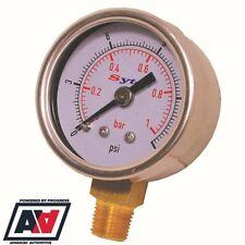 FSE Malpassi Pro Flow Fuel Pressure Regulator Carburettor Only 8mm Hose Tails