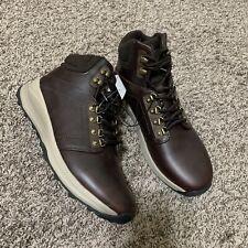 KHOMBU Men's Hiker Boots in Brown/US 10