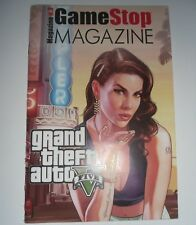 GameStop Magazine Numero 3 in Copertina GTA V Grand Theft Auto 5 Videogame