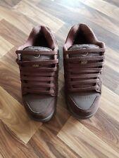 DVS Shoes Braun Samt Männer Herren Stoff Schuhe
