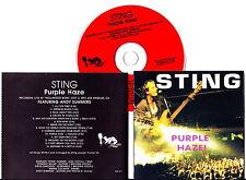 STING  Purple Haze, Live Holliwood Bowl L.A. USA 1991 Italy Press CD VERY RARE