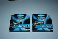 8 Xtreme3 Razor Blades Fit Schick Wilkinson Subzero Shaver Refills Cartridge 2*4