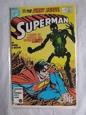 SUPERMAN DC Comics Book Jan 87 First Issue Byrne  Austin VERY NICE NEAR MINT