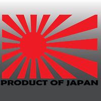 1x Funny Product of Japan JDM Rising Sun Car Vinyl Decal Sticker   Honda   Mazda