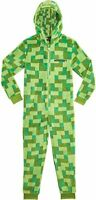 Minecraft All in One Super Soft Hooded Pyjamas or Gamers Boys Girls