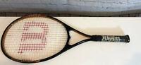 "Wilson Titanium XL Tennis Racquet - 4 1/4"" grip - V-Matrix, Stop-shock sleeves"