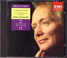 Klaus TENNSTEDT BRUCKNER Symphony No.8 London Philharmonic EMI CD Sinfonie