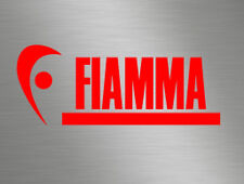 Fiamma Red Side Awning Vinyl Badge Stickers Decals Caravan Campers Motorhomes