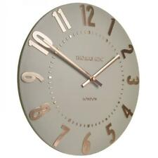 NEW Thomas Kent Mulberry Wall Clock, Rose Gold, 30cm