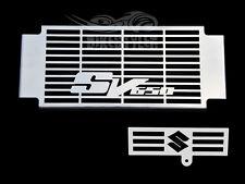 SUZUKI SV 650 / 650S 2005-10 K5-K10 STAINLESS RADIATOR COVER w/ OIL COOLER GRILL