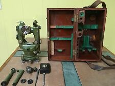Unique Theodolite  Wild T1 Heerbrugg Swiss Surveyor. Astronomic Diagonal Eyep