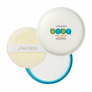 Shiseido Baby Powder (pressed) 50g with Soft Puff From Japan