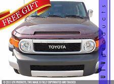 GTG 2007 - 2014 Toyota FJ Cruiser 2PC Gloss Black Overlay Billet Grille Kit