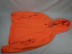 Northeast Outfitters Orange Hunting Zip Up Hoodie LARGE - blaze hunter