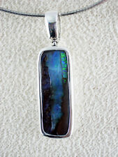 Boulder Opal Anhänger Silber Schmuck