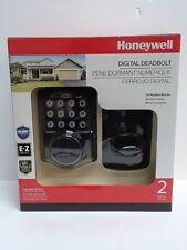 Honeywell Digital Deadbolt Oil Rubbed Bronze 8712409