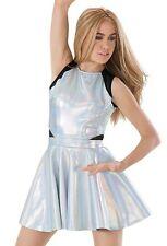 Holographic Skater/Dance Dress (lot of 2)
