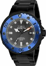 Invicta Men's 49mm Pro Diver Grand Scuba Black/Blue Grey Dial Automatic SS Watch