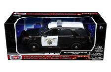 Motor-Max 1:18 Ford Police Interceptor 2015 - California 73544