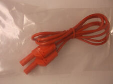 """New 48"""" Test Lead Stackable Banana Plug Red 1000 Max Volts FREE SHIP (C2)"""