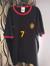 Belgium euro 2000 Wilmots Nike TShirt  Football Soccer L Vintage