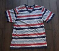 Armor Lux T Shirt Breton Stripe Size 3 / M