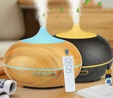 550ml Usb Air Humidifier Aroma Diffuser Air Purifier 7 Colors Changing Air Clean