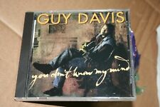 """NEW CD Guy Davis """"You Don't Know My Mind"""" delta blues on Red House 1st Pressing"""