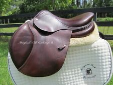 "15/15.5"" CWD SE01 French close contact jumping child/ pony saddle-0L flaps"