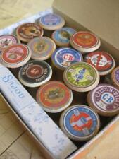 Sajou Gift Box 15 Mini Wooden Bobbin Spools- Lovely Vintage Style Labels