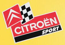 'CITROEN SPORT' RALLY C3  AX BX stickers 2CV, DS, AMI, SM, SAXO, Dyane, Mehari