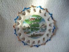 Vintage Thousand Islands, New York Souvenir Plate