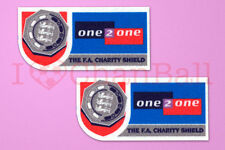 Fa charity shiled mcdonald's manches 1999-2001 soccer patch/badge