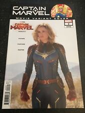 "Captain Marvel#2 Incredible Condition 9.4(2019)""Larson Photo Movie Variant"""